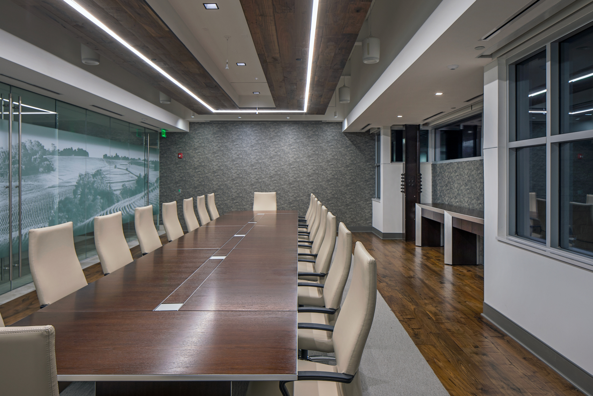 conference room, Great Plains remodel