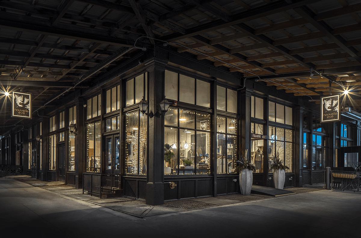 Nouvelle Eve shop, interior design