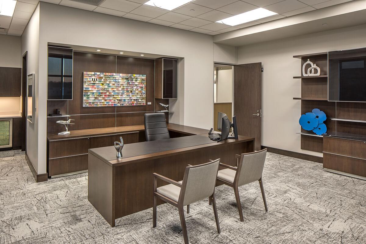 office design for silverleaf wealth management