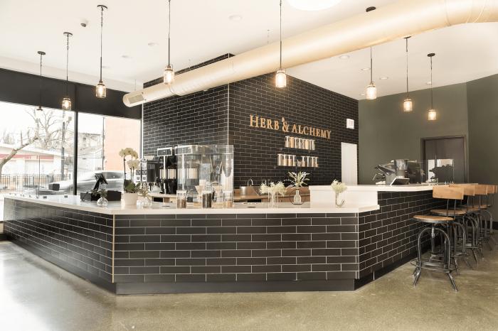 Herb & Alchemy interior design