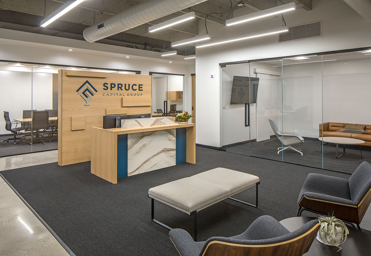 Spruce Capital commercial interior design